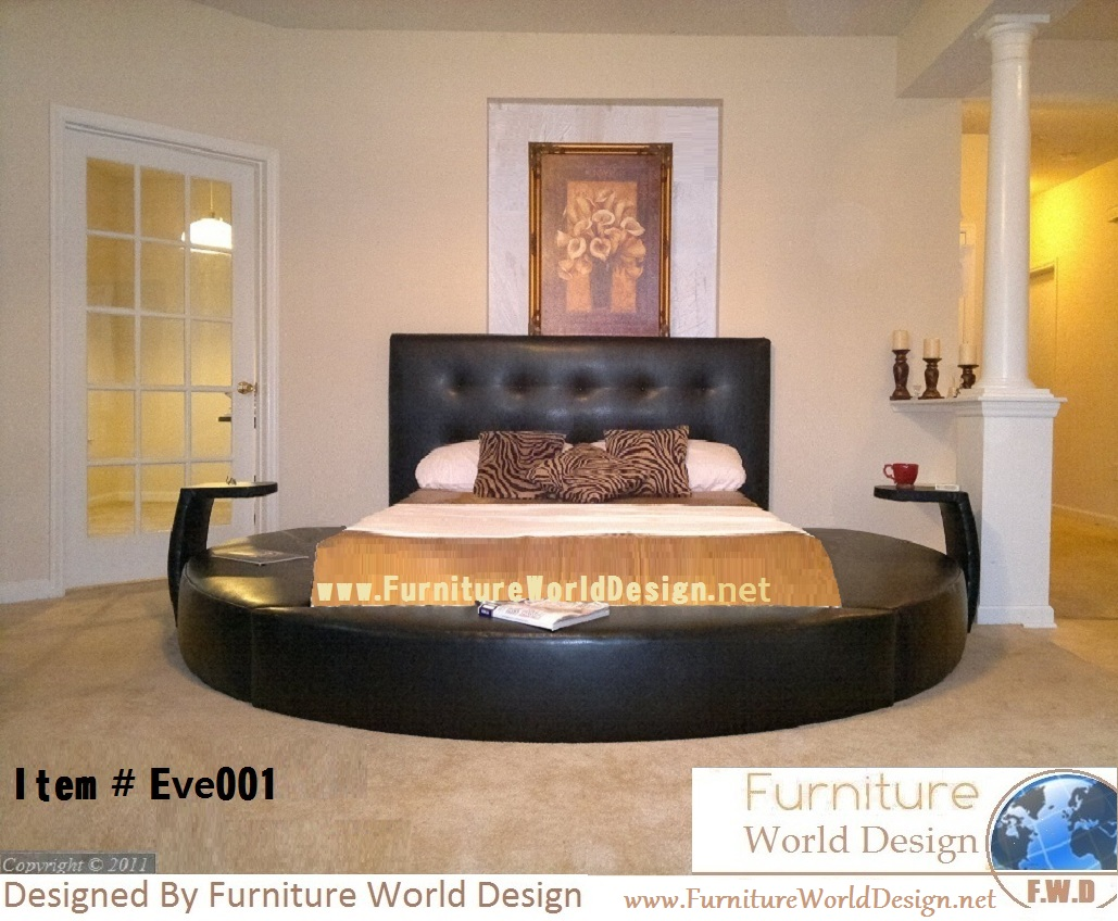 Charmant Round Bed_eve001