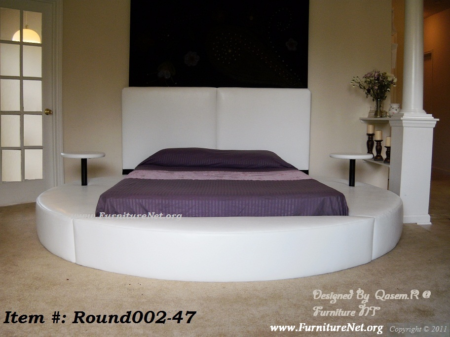 Gallery For Round Bed